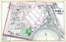 Plate A, Providence 1875 Vol 1 Wards 1 - 2 - 3  East Providence