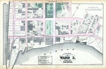 Plate R, Providence 1875 Vol 1 Wards 1 - 2 - 3  East Providence