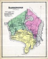 Barrington, Rhode Island State Atlas 1870