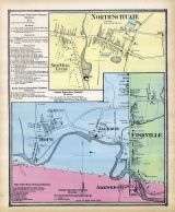 Scituate North, Hope, Jackson, Fiskville, Arkwright, Rhode Island State Atlas 1870