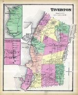 Tiverton, Stone Bridge, Tiverton 4 Corners, Rhode Island State Atlas 1870
