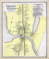 Valley Falls, Rhode Island State Atlas 1870