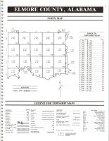 Index Map, Elmore County 1994