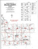Map Image 034, Wilcox County 1991