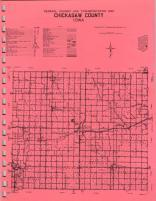 Map Image 015, Chickasaw County 1971