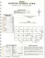 Index Map, Clinton County 1971