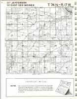 Jefferson, West Des Moines T74N-R17W, Mahaska County 1971