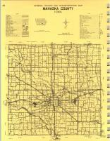 Map Image 017, Mahaska County 1971