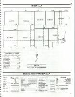 Index Map, Douglas County 1989