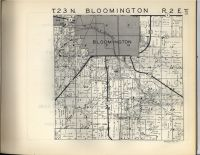 Bloomington T23N-R2E, McLean County 1947