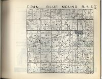 Blue Mound T24N-R4E, McLean County 1947