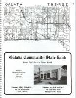 Galatia T8S-R5E Saline County 1988 Illinois  map online