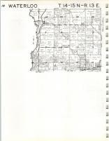 Map Image 008, Fayette County 1967
