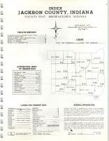 Index Map, Jackson County 1971