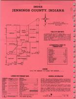 Index Map, Jennings County 1968
