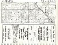 Map Image 009, Jennings County 1968