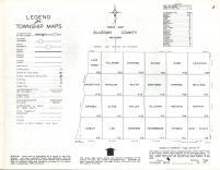 Index Map, Allegan County 1962