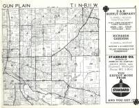 Gun Plains T1N-R11W, Allegan County 1962