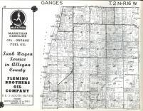 Ganges T2N-R16W, Allegan County 1962