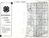 Lake Town T4N-R16W, Allegan County 1962