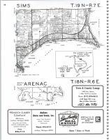 Map Image 008, Arenac County 1990