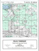 Felch T42N-R28W, Dickinson County 1990