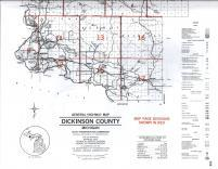 Map Image 027, Dickinson County 1990