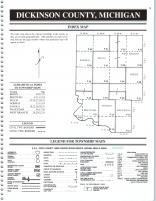 Index Map, Dickinson County 2000