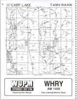 Carp Lake T49N-R44W, Ontonagon County 1990
