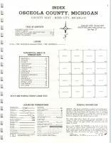 Index Map, Osceola County 1975