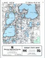 Lake View T138N-R41W, Becker County 1992