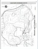 Map Image 047, Becker County 1992
