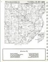 Map Image 004, Chisago County 1972