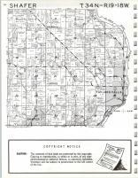 Map Image 006, Chisago County 1972