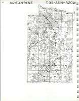 Map Image 008, Chisago County 1972