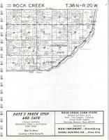 Pine City, Rock Creek T38N-R20W, Pine County 1973