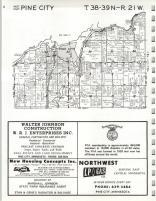 Map Image 004, Pine County 1973