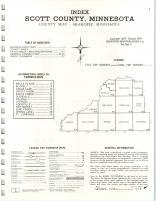 Index Map, Scott County 1974