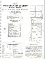 Index Map, Washington County 1976