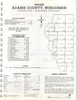Index Map, Adams County 1973