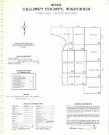 Index Map, Calumet County 1976