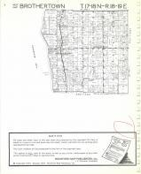 Map Image 001, Calumet County 1976