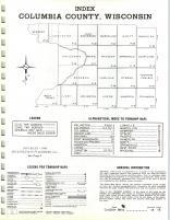 Index Map, Columbia County 1968