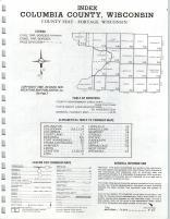 Index Map, Columbia County 1976