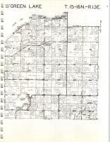 Map Image 005, Green Lake County 1969