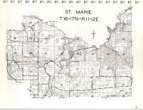 Map Image 013, Green Lake County 1969