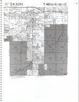 Map Image 016, Iron County 1985
