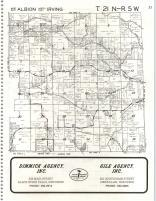 Albion Springfield Irving T21n R5w Atlas Jackson County 1979 Wisconsin Historical Map