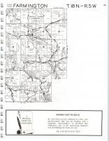 Farmington, Burns T18N-R5W, La Crosse County 1975