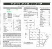 Index Map, Oconto County 1992